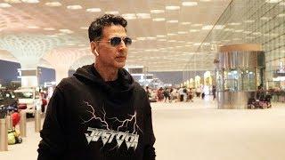 Khiladi Akshay Kumar Spotted At Mumbai Airport