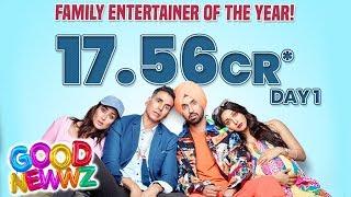Good Newwz 1st Day Collection | Official Box Office | Akshay, Kiara, Kareena, Diljit