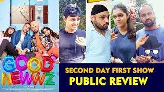 Good Newwz PUBLIC REVIEW | Second Day First Show | Akshay Kumar, Kareena, Kiara, Diljit