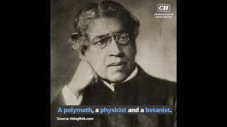 Jagdish Chandra Bose was not only an eminent scientist but also a prolific writer. Know more