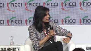 Dr Gita Gopinath, Chief Economist, IMF at 92nd #FICCIAGM