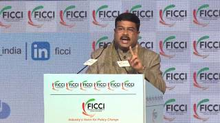 Mr Dharmendra Pradhan, Minister, Petroleum & Natural Gas and Steel at #FICCIAGM