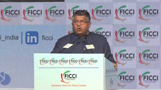 Mr Ravi Shankar Prasad,  Minister, Law & Justice & Communications, Electronics and IT at #FICCIAGM