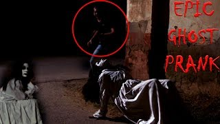 Scary Ghost Girl Prank in India | Oasis bits pilani 2019 Rajasthan | Unglibaaz