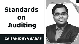 Revisionary Class on Standards on Auditing by CA Sanidhya Saraf