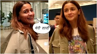 Alia Bhatt speaks for the first time on the news of her marriage to Ranbir Kapoor | News Remind