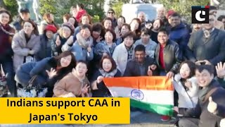 Indians support CAA in Japan's Tokyo