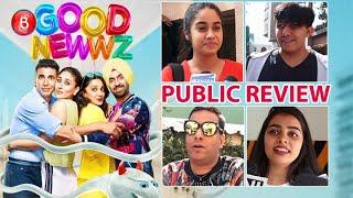 Good Newwz Public Review | First Day First Show | Akshay Kumar | Diljit Dosanjh | Kareena Kapoor