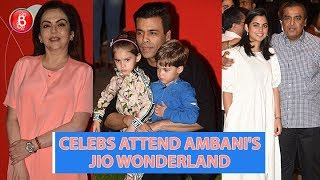 Karan Johar, Mukesh Ambani, Neeta Ambani Attend Jio Wonderland Launch In Style