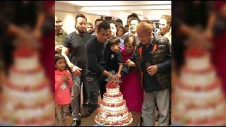 Salman Khan Ne Apna Birthday Media Persons Ke Sath Celebrate Kiya A.Tv News 28-12-2019