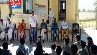 બનાસકાંઠા-લોક નિકેતન શાળા વિદ્યાર્થીઓ ગ્રામ પંચાયતની મુલાકાતે