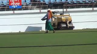 17મી જાન્યુઆરીએ રાજકોટમાં ભારત-ઓસ્ટ્રેલિયાનો મેચ તડામાર તૈયારી