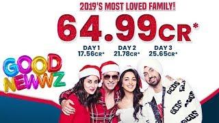 Good Newwz 3rd Day Official Box Office Collection | Akshay, Kiara, Kareena, Diljit