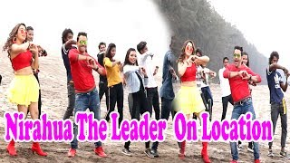 Nirahua The Leader | On Location - Dinesh Lal Yadav Nirahua, Aamarpali Dubey - Apna Samachar