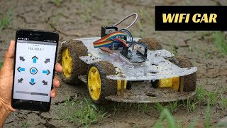 How to Make Mobile Remote Controlled Car with Nodemcu | Indian LifeHacker