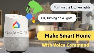 How to make SMART HOME with google home and Nodemcu ESP8266 | Indian LifeHacker