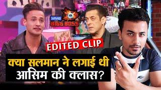 Bigg Boss 13   Salman Khan BASHED Asim Riaz On Weekend Ka Vaar?   Edited Clip   BB 13 Latest Update