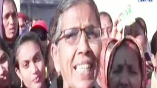 Vadiya | pedestrians leave for Vadia-Virpur overnight stay  | ABTAK MEDIA