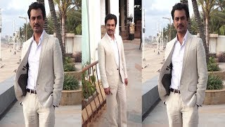 Nawazuddin Spotted At Promoting Film Motichoor Chaknachoor  | News Remind