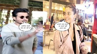 Alia Bhatt & Anil Kapoor Spotted At Airport | News Remind