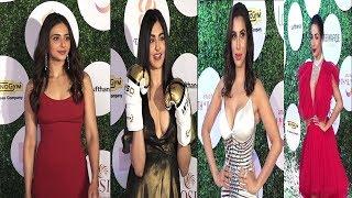 Global Spa Fit & Feb Awards With Malaika Arora,Rakul Preet Singh & Other Celebs    Hot Dress  