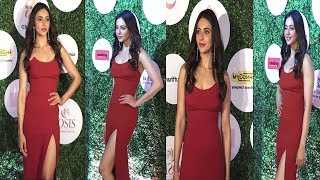 Rakul Preet Singh Looking Glamorous From Global Spa Fit & Fab Awards   News Remind