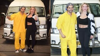 Varun Dhawan Spotted With Charlotte Flair American Professional Wrestler | News Remind