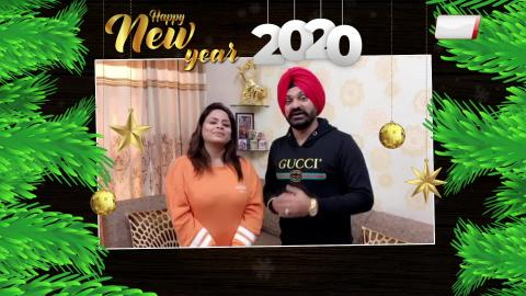 Gurlez Akhtar And Kulwinder Kally | New Year Wishes | Happy New Year 2020 | Dainik Savera