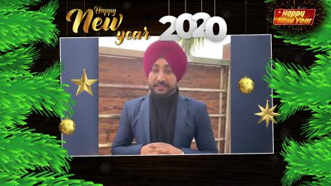 Ranjit Bawa | New Year Wishes | Happy New Year 2020 | Dainik Savera