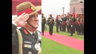 Watch: General Bipin Rawat receives farewell Guard of Honour as Army Chief