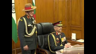 General Manoj Naravane takes charge as new Army Chief