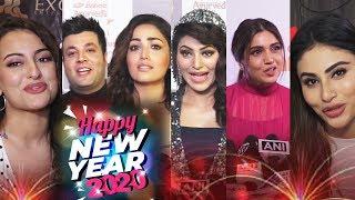 Bollywood Celebs Wishes Happy New Year 2020 | Mouni, Sonakshi, Urvashi, Bhumi, Yami