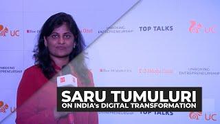 India is pole vaulting digital transformation: Khosla Labs', Saru Tumuluri