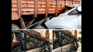 Karnataka CM's convoy rams into lorry, driver sustains minor injuries
