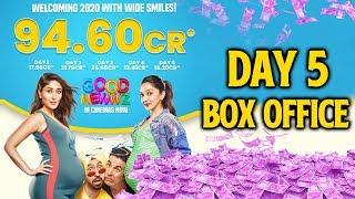 Good Newwz 5th Day Official Box Office Collection | Akshay, Kiara, Kareena, Diljit
