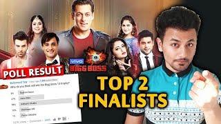 Bigg Boss 13 | Top 2 Finalists | POLL Result | BB 13 Latest Video