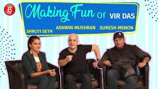 Shruti Seth, Ashwin Mushran, Suresh Menon Make Fun Of Vir Das   Jestination Unknown