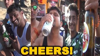 """WATCH: """"There Is Freedom To Drink On The Beach In Goa, Nobody Questions Us""""- Tourists"""