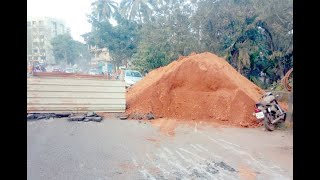Ongoing Sewage Work In Ponda Is Becoming A Headche For Locals