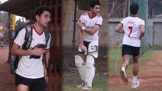 Ibrahim Ali Khan Plays Cricket Like Grand Father Tiger Pataudi | Saif Ali Khan Son