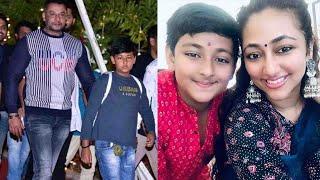 Darshan Son Vineesh Latest Video | Vijaya Lakshmi | Challenging Star Darshan Family Recent Photos