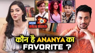 Bigg Boss 13 | Who Is Ananya Panday's Favorite Contestant? | BB 13 Latest Video