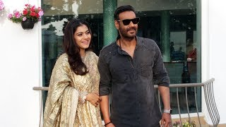 Ajay Devgan And Kajol Devgan Spotted Promoting Their Film Tanahji At Sun N Sand Hotel