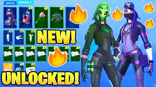 *NEW* LEAKED OVERTIME  CHALLENGES REWARDS!(UNLOCKED) Fortnite  (REMEDY VS TOXIN) PURPLE REMEDY SKIN