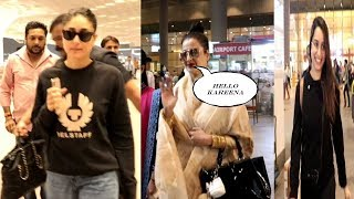 Kareena Kapoor, Rekha & Shraddha Kapoor Spotted At Airport | News Remind