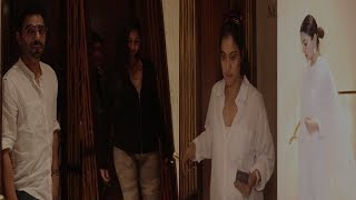 Kajol, Anushka, Katrina & Aparshakti Reach Manish Malhotra House For Condolance | News Remind
