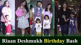 Aishwarya Rai, Mira Rajput, Vivek Oberoi Attend Ritesh Deshmukh Son Riaan Birthday Party