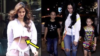 Disha Patani & Manyata Dutt With Her Children Spooted | Bollywood Actress | Bollywood | News Remind