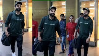 Virat Kohli Spotted At Airport | News Remind