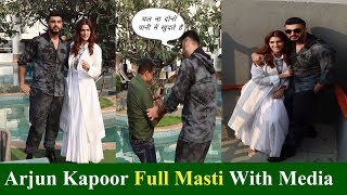 Arjun Kapoor & Kirit Sanon Promoting Panipat Movie | News Remind